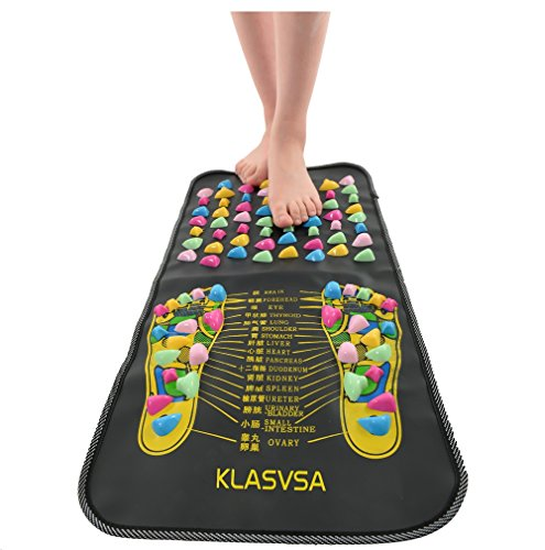Foot Leg Massager Mat Health Care Acupressure Reflexology Walk Stone Pain - Austin Premium Outlets