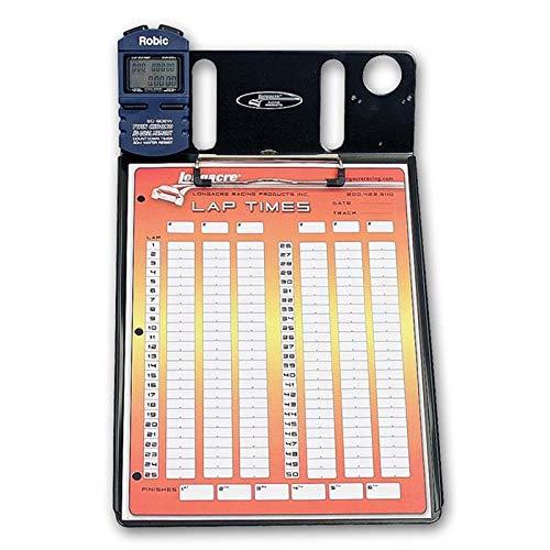 Longacre 52-22319 1 Car Stopwatch Clipboard w/Robic SC 606W Timer