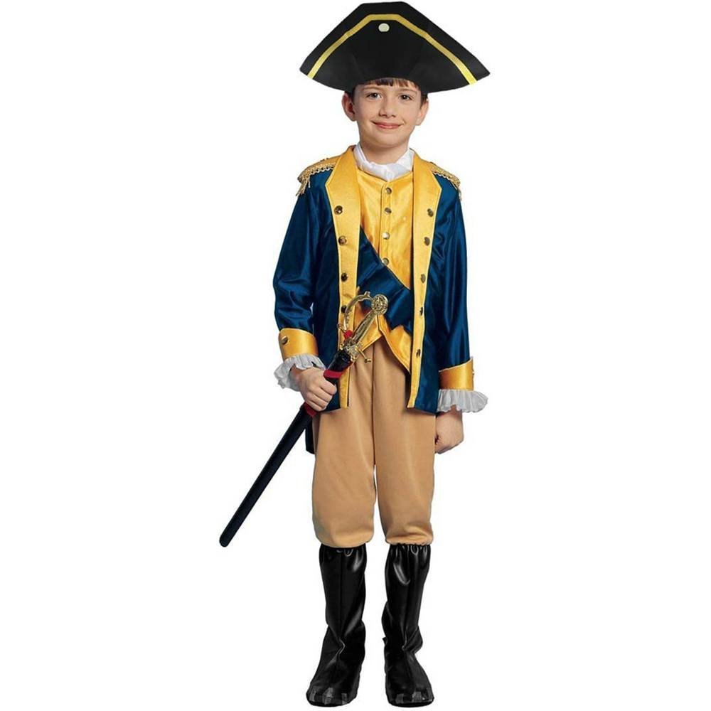 Amazon.com: Kids Patriot Costume - Child Size Large 12-14 - (RUNS ...