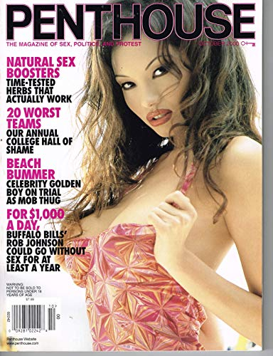 Penthouse Magazine October 2000 Linn Thomas Single Issue Magazine - 2000