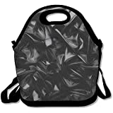 liquid wave machine - Liluch Lunch Tote Bag Abstract Background Luxury Cloth Or Liquid Wave Or Wavy Folds Of Grunge Silk Texture Satin Velvet Funniest School Reusable