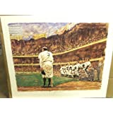 Autograph Warehouse 718 Babe Ruth Autographed Farewell Lithograph