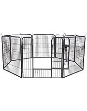 AQPET Recinto recinzione box per animali cani gatti roditori 80x80cm per esterno giardino