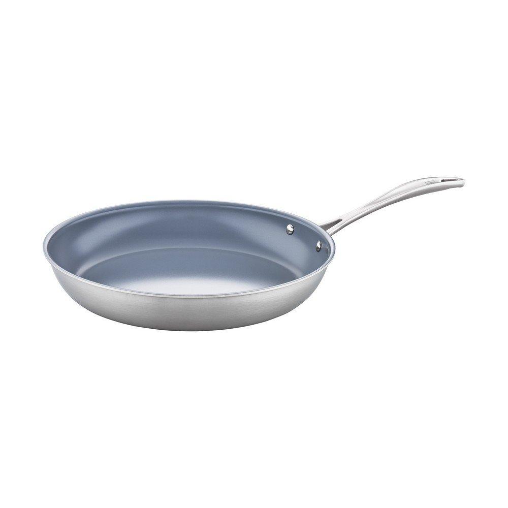 "ZWILLING Spirit 3-ply 12"" Stainless Steel Ceramic Nonstick Fry Pan"