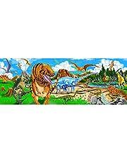 Melissa & Doug vloerpuzzel - Land van dinosaurus (48 delen)