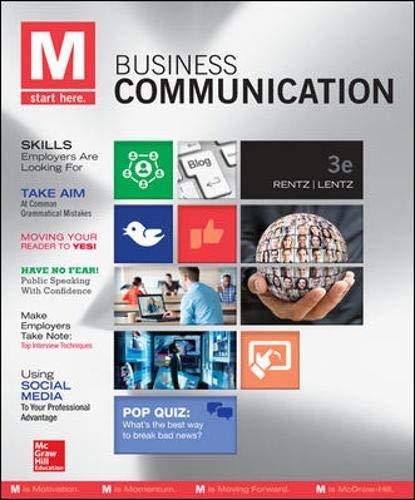 M: Business Communication - Standalone book