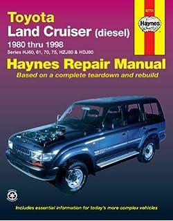 Toyota Land Cruiser Diesel (80 - 98): 1980-1998 (Haynes Automotive