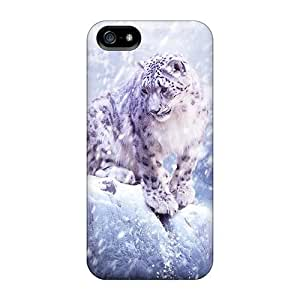 LfR28049GlXQ Luoxunmobile333 Defender Hard Cases Covers For Case Iphone 6Plus 5.5inch Cover Snow Leopard Hunting