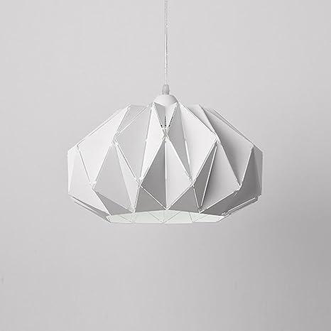 Modern sencilla lámpara colgante colgante estilo de metal ...