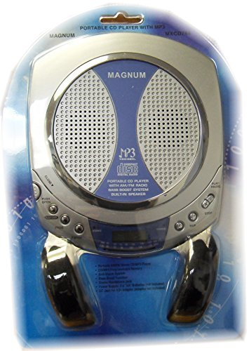 Magnum MXCD784 Portable AM/FM stereo CD/MP3 player by Magnum