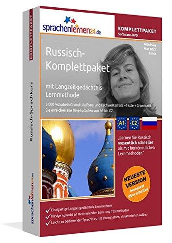 Sprachenlernen24.de Russisch-Komplettpaket (Sprachkurs): DVD-ROM für Windows/Linux/Mac OS X inkl. integrierter Sprachausgabe mit über 5700 Vokabeln und Redewendungen.