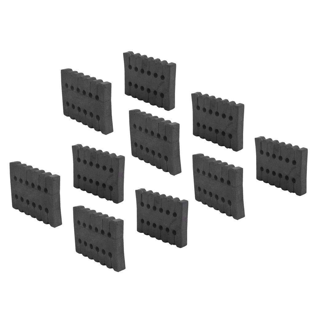 Compoundbogen Pfeil Zubeh/ör T TOOYFUL 10 x Pfeil Separator Pfeilhalter Bogenschie/ßen Schaum Pfeilst/änder