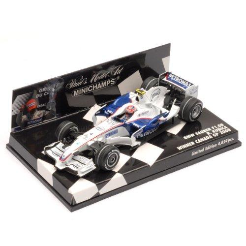 1/43 BMW ザウバー F1チーム F1.08 ロバート・クビサ カナダGP 2008 ウィナー(ホワイト×ブルー) 400080104