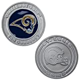 St. Louis Rams - Officially licensed NFL Team Challenge Coin Card Guard - Poker Protector Token