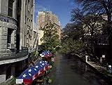 Photo: River Walk,Tourist Attraction,San Antonio,Texas,TX,Umbrellas,Carol Highsmith,2