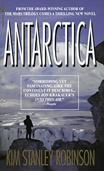 Antarctica by Kim Stanley Robinson science fiction and fantasy book and audiobook reviews