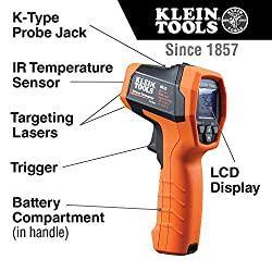 Klein Tools IR5 Dual-Laser Infrared Thermometer