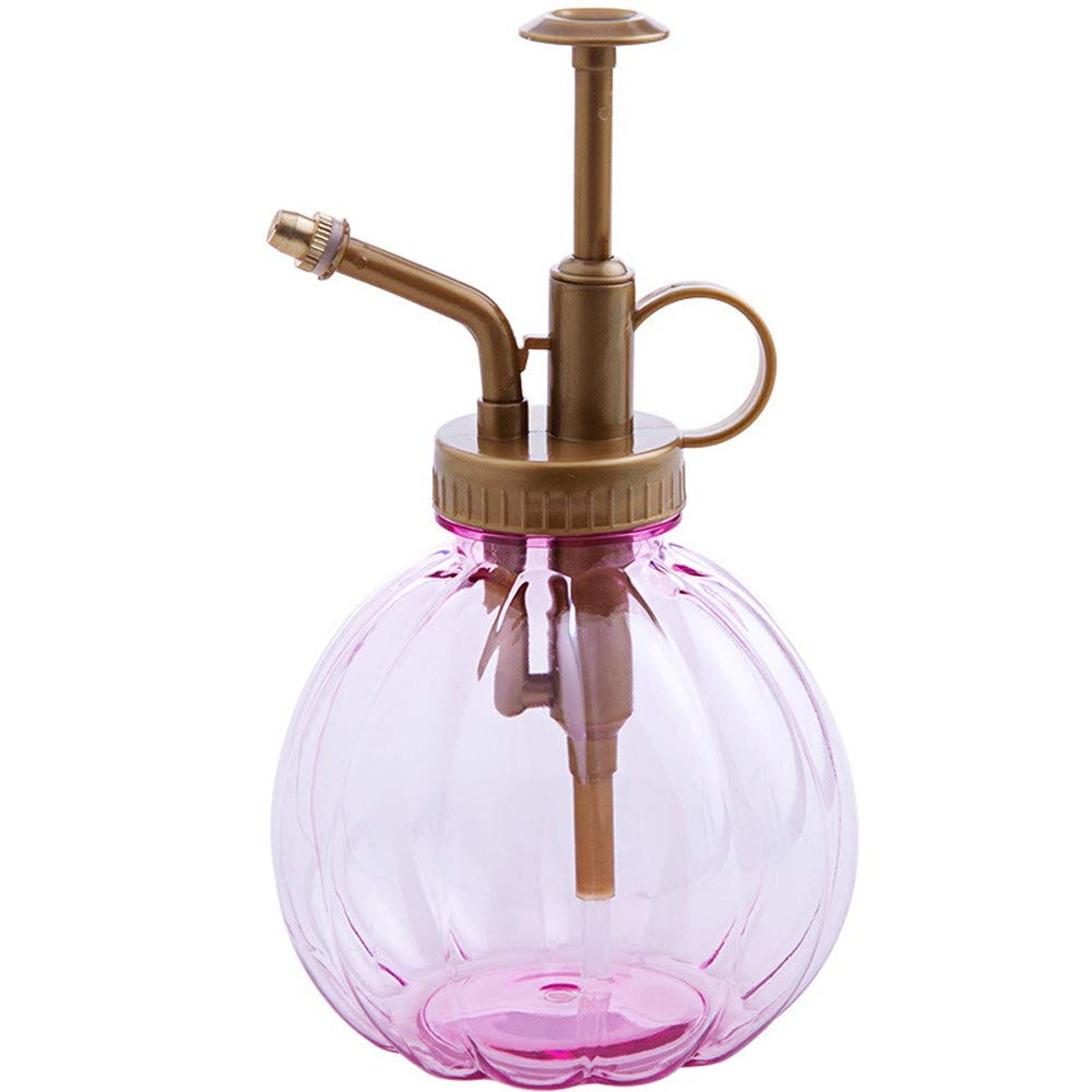Quaanti 1PC 350ML Plant Flower Watering Pot Spray Bottle Garden Mister Sprayer Hairdressing Watering Pot Practical Garden Tool (Pink)