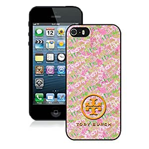 Fahionable Custom Designed iPhone 5S Cover Case With Tory Burch 28 Black Phone Case