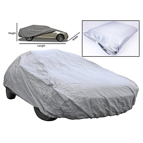 ROSENICE Car Cover Waterproof Universal Outdoor Indoor Full Cover UV Protection- Size XL