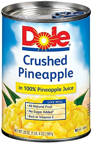 Dole Pineapple in Juice Crushed  20 oz