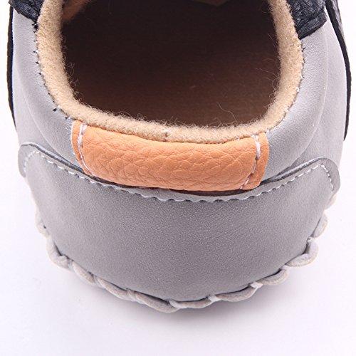 Leap Frog Huarache Sneakers - Zapatos primeros pasos de Lona para niña marrón