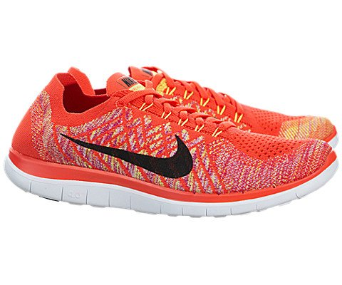 Nike Mens Free Flyknit 4.0 Running Shoes