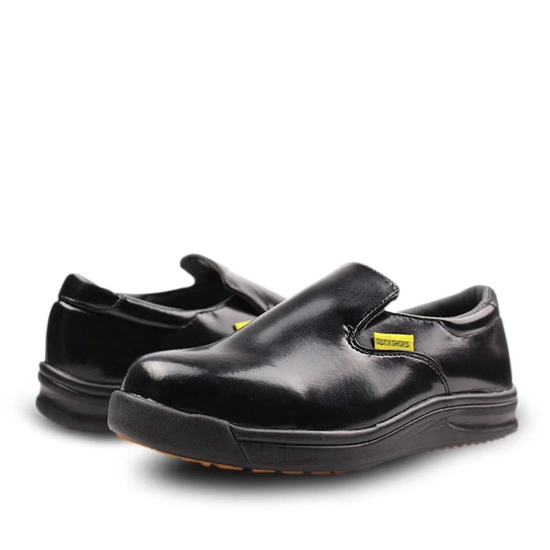 DDTX Unisex-Adult'Slip y Aceite Resistente a la Industria Ligera Zapatos de la Industria Negro(41) qbMukF5w