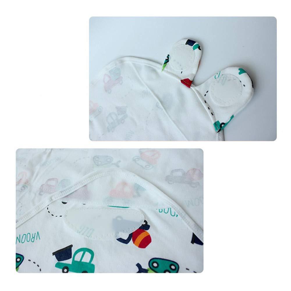 #2 Adjustable Infant Sleeping Bag Newborn Baby Swaddle Cotton Blanket Wrap Cloth Unisex for Sleepsack Bedding Stroller 0-3months