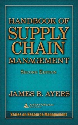 Read Online Handbook Supply Chain Management:2nd (Second) edition pdf epub