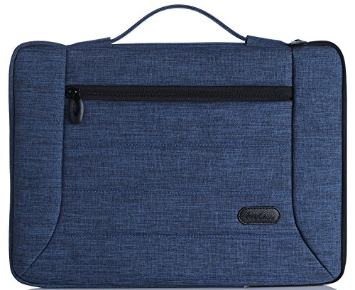 ProCase 14-15.6 Inch Laptop Sleeve Case Cover Bag for MacBook Pro, Most 14 15 Inch Laptop Ultrabook Notebook Chromebook Lenovo Dell Toshiba HP ASUS Acer -Navy Blue