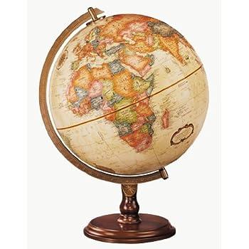 Amazoncom Sierra World Globe Desk Globe Antique Finish