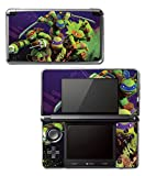 Teenage Mutant Ninja Turtles TMNT Leonardo Leo Michaelangelo Donatello Raphael Cartoon Movie Video Game Vinyl Decal Skin Sticker Cover for Original Nintendo 3DS System