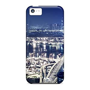 NSNOJ7612SXIuA JohnMiss Hong Kong Nights Feeling Iphone 5c On Your Style Birthday Gift Cover Case