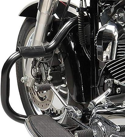 Sturzb/ügel f/ür Harley Davidson Fat Boy Special 2010-2017 Mustache Chrom