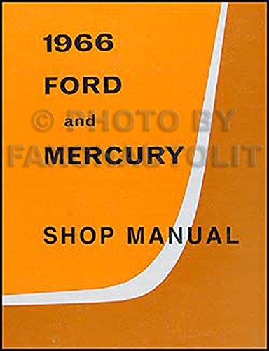 1966-ford-galaxie-mercury-repair-shop-manual-reprint-monterey-montclair-parklane
