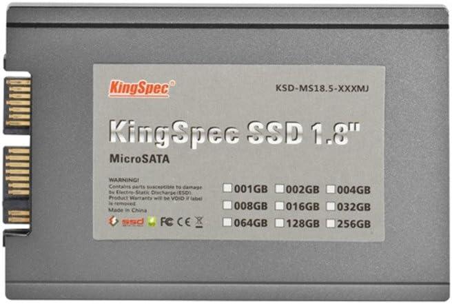 KingSpec - Disco duro SSD de 1,8