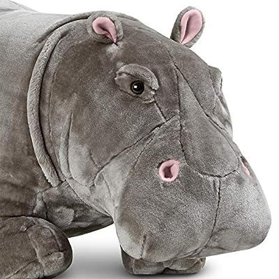 Melissa & Doug Giant Hippopotamus - Lifelike Stuffed Animal (over 2 feet long): Melissa & Doug: Toys & Games