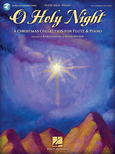 O Holy Night: A Christmas Collection For Flute & Piano (Book & Online Audio)