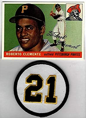 Roberto Clemente Hof 1955 Topps Rookie Rc 164 With 21
