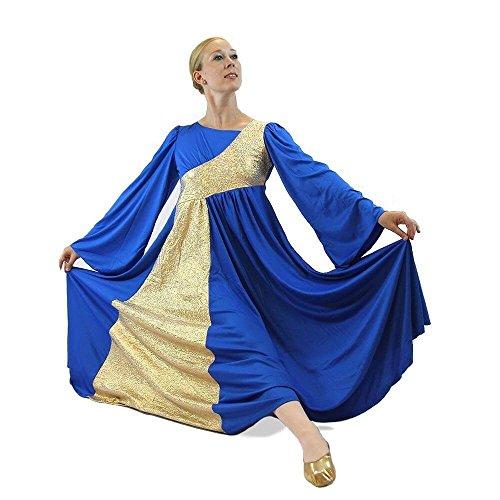Sleeve Dance Dress - 7