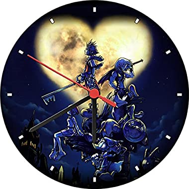 Kingdom Hearts Sora Moon Wall Clock