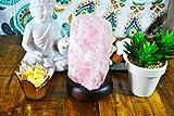 Rose Quartz Crystal Lamp, Best Quality Rose