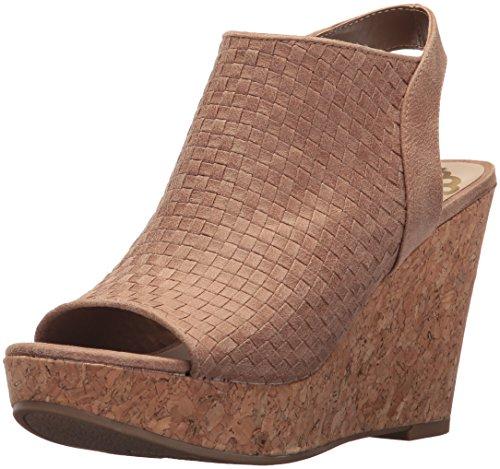 Fergalicious Women's Rasta Wedge Sandal Nude Gva7yJ
