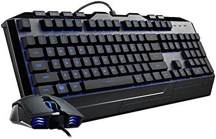 Cooler Master Devastator 3 - Combo de teclado y mouse para juegos, retroiluminación LED de 7 modos de color, teclas multimedia, configuración de 4 DPI 20