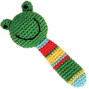 Handmade Baby Rassel Greifling Gehäkelt Frosch Amazonde Baby