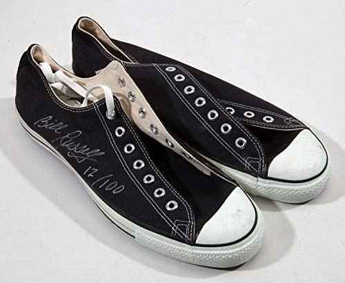 huge discount 3e32b d507d Bill Russell Signed Converse All Star Shoes Sneakers