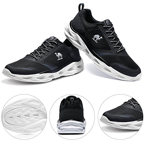 CAMEL Men's Trail Running Shoes Lightweight Shockproof Fashion Sports Athletic Sneakers for Gym Walking