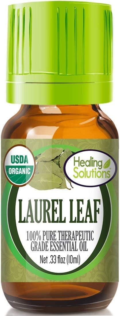 Organic Laurel Leaf Essential Oil (100% Pure - USDA Certified Organic) Best Therapeutic Grade Essential Oil - 10ml