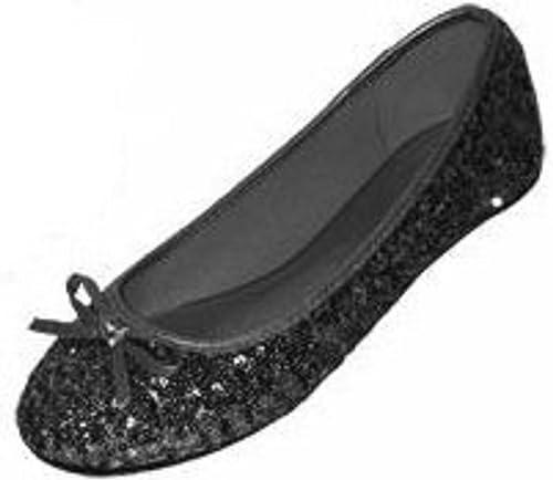 Sequins Ballerina Ballet Flats Shoes
